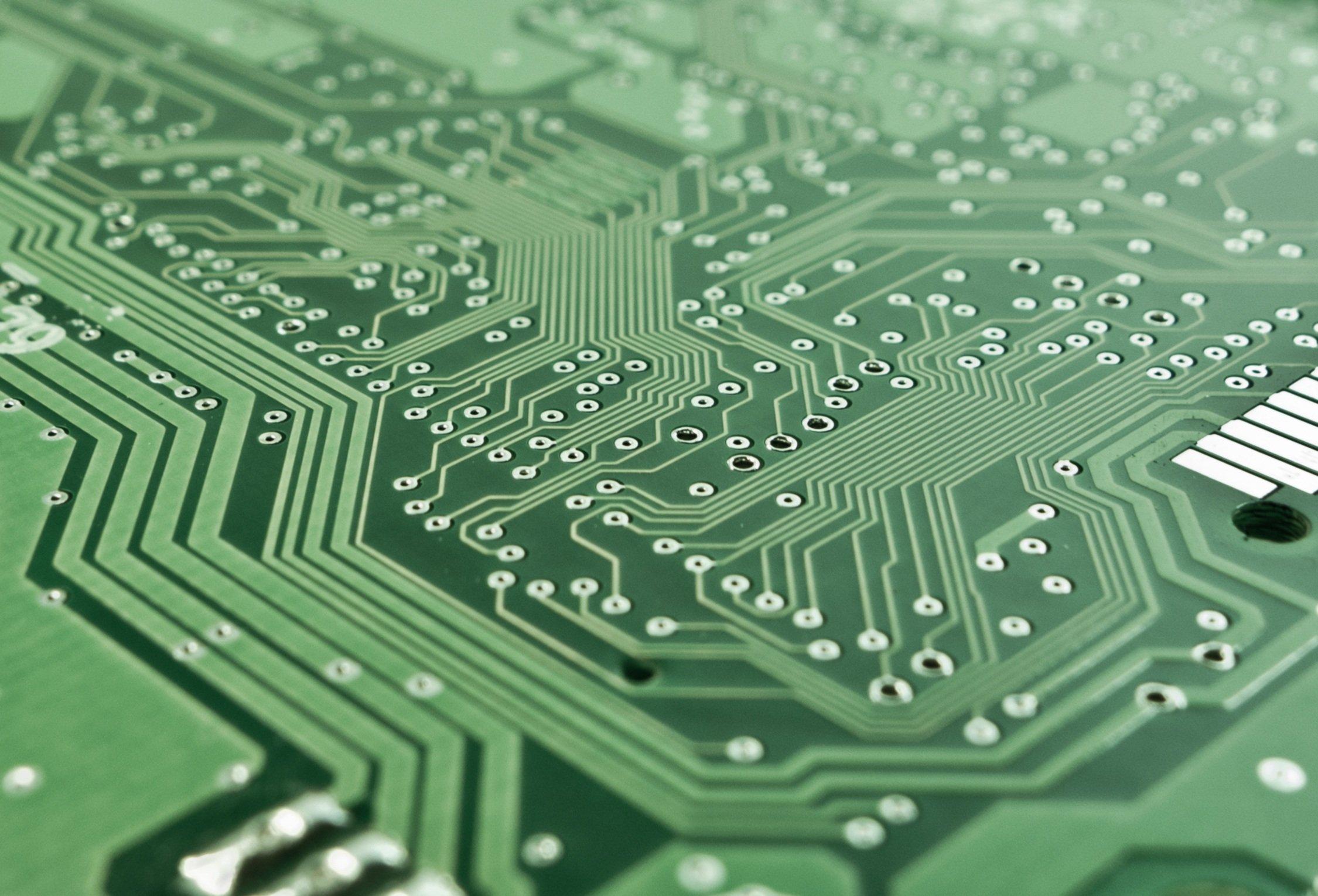 電子工作の回路基板